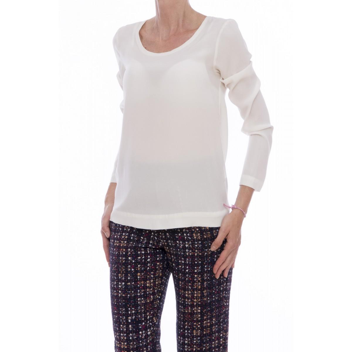 T-shirt Jucca - J2108o t-shirt seta manica lunga