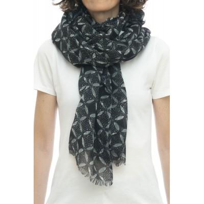 Sciarpa - Ortensia 4529   100% lana  ,  100 x 200