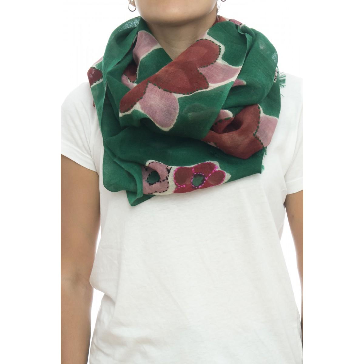 Sciarpa - Rosa 4626 , 100% lana ,  70 x 180
