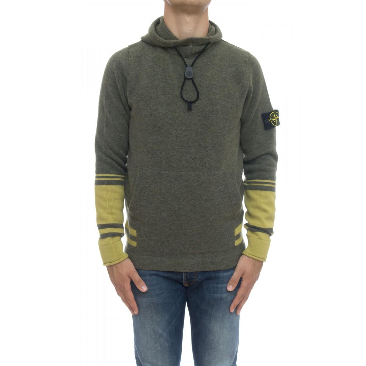Maglia uomo - 547b2 maglia cappuccio riga