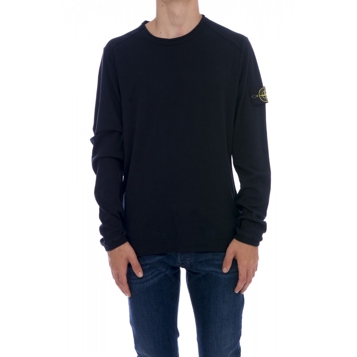 T-shirt uomo Stone island - 20745 t-shirt manica lunga interlock