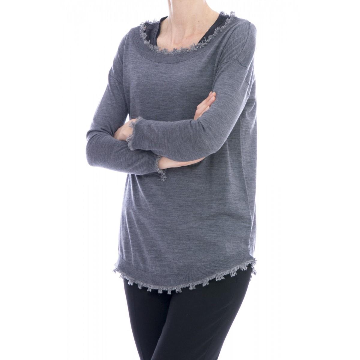 Maglia donna Kangra - 2551/13 maglia frange