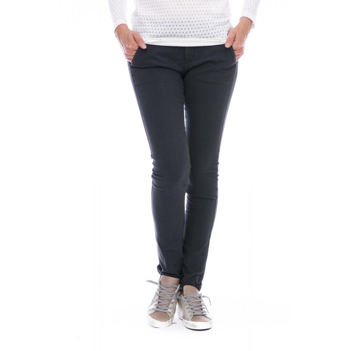Pantalone donna 40 weft - Melita 8688 pantalone pois