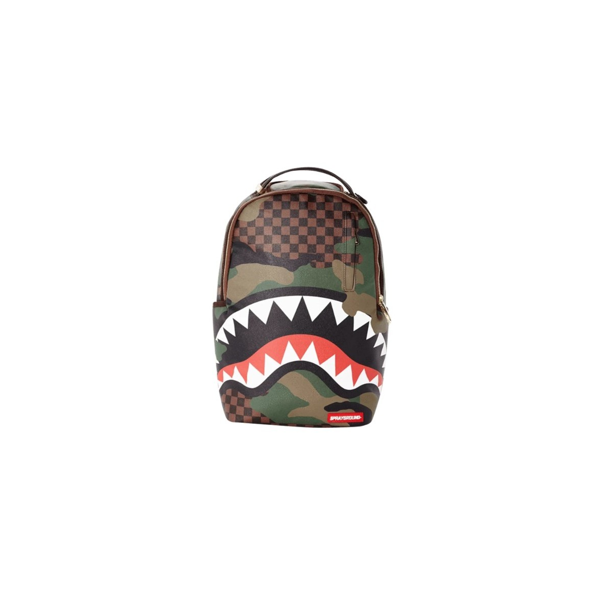 Zaino - Checkered camo shark