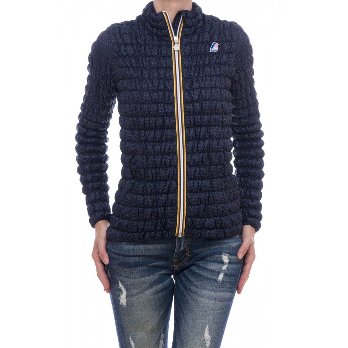 Piumino K way - Lena warm tech stretch k0063e0 primaloft gold