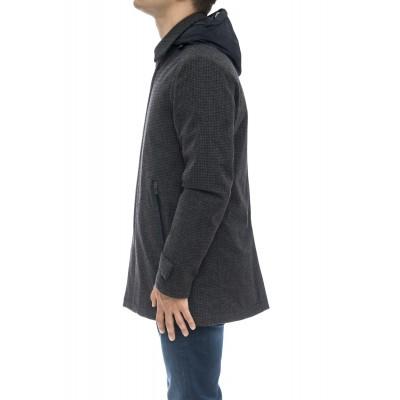 Piumino - Pi131ul 33139 tessuto misto lana con laminar , water repllent , traspirante