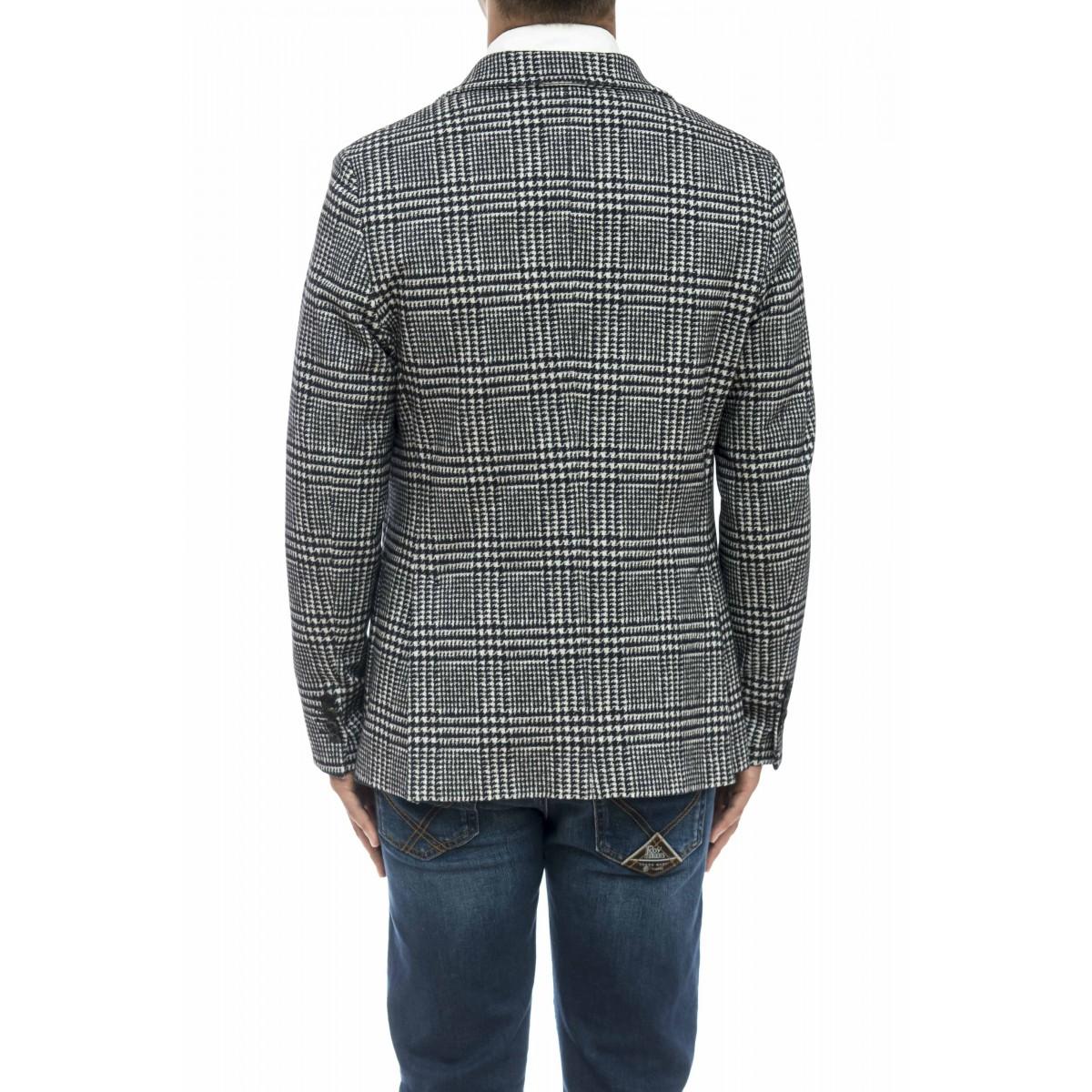 Giacca uomo - Cn2410 giacca pie di pois jersey strech