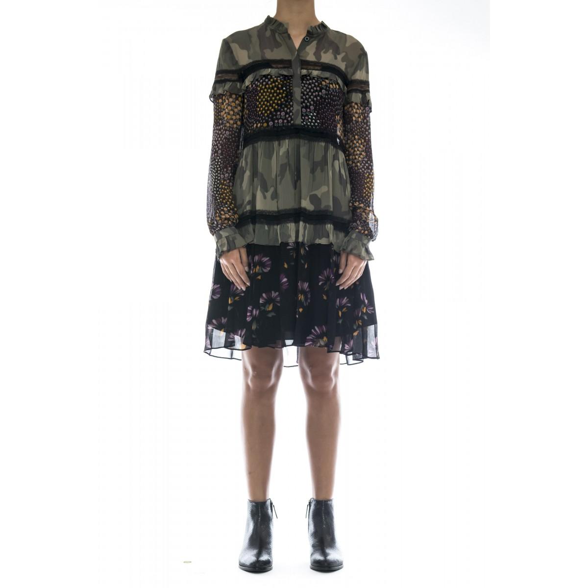 Vestito - Tt2122 vestito corto camu
