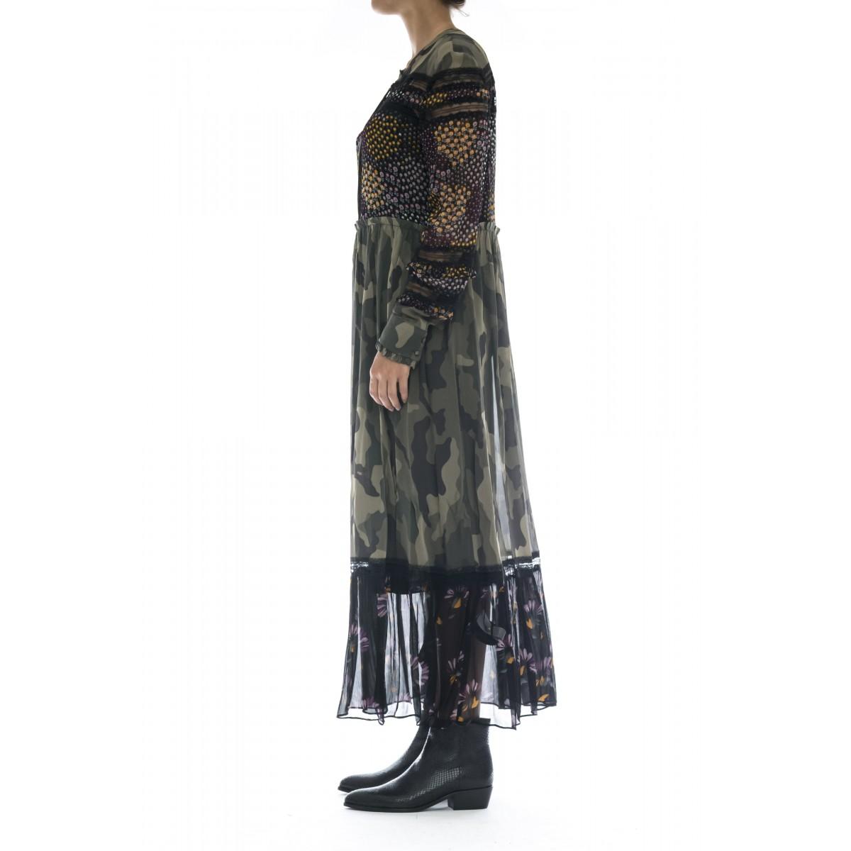 Vestito - Tt2120 vestito lungo camu
