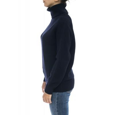 Maglieria - Wwmag1823 maglia collo alto