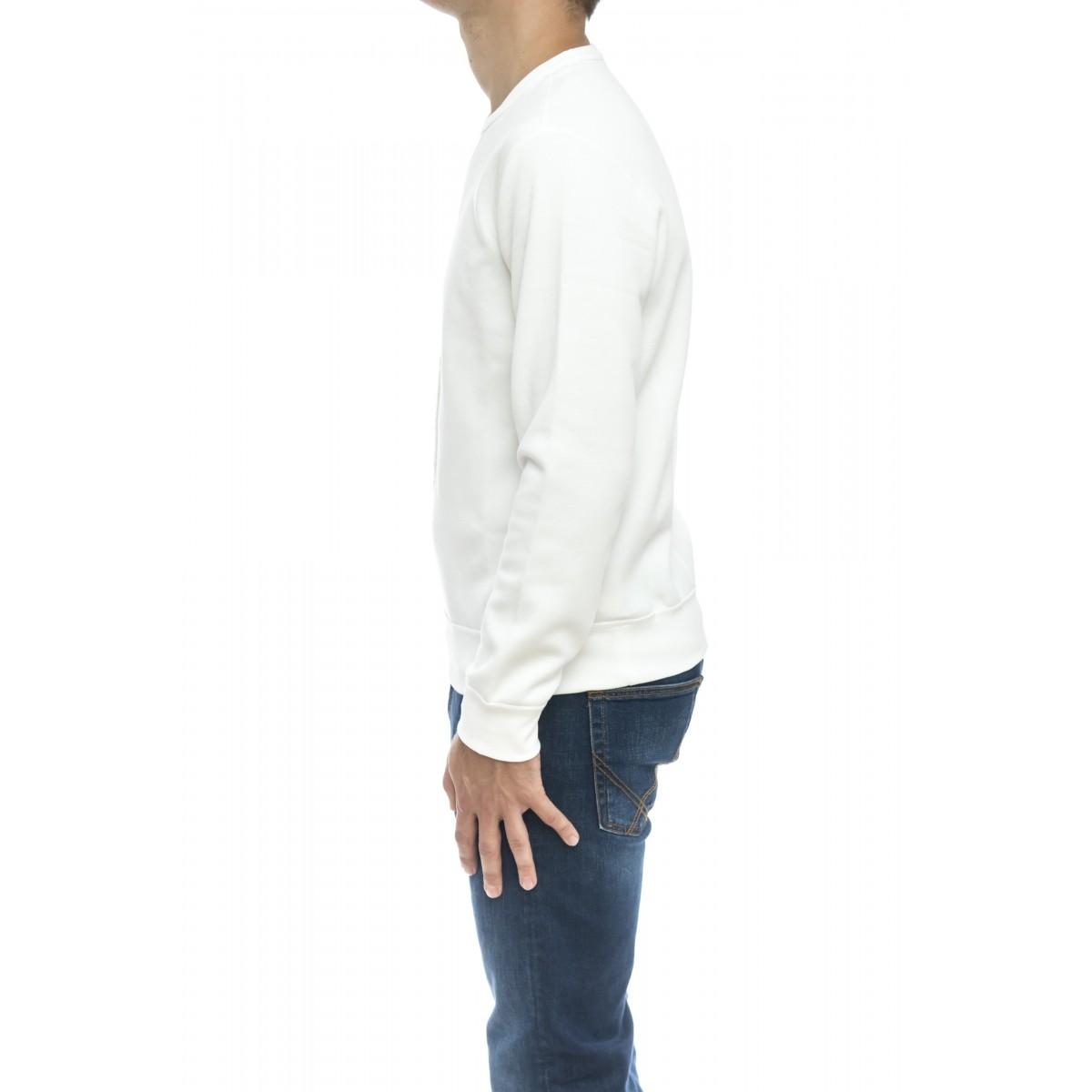 Felpa uomo - 766862 felpa giro maxi logo