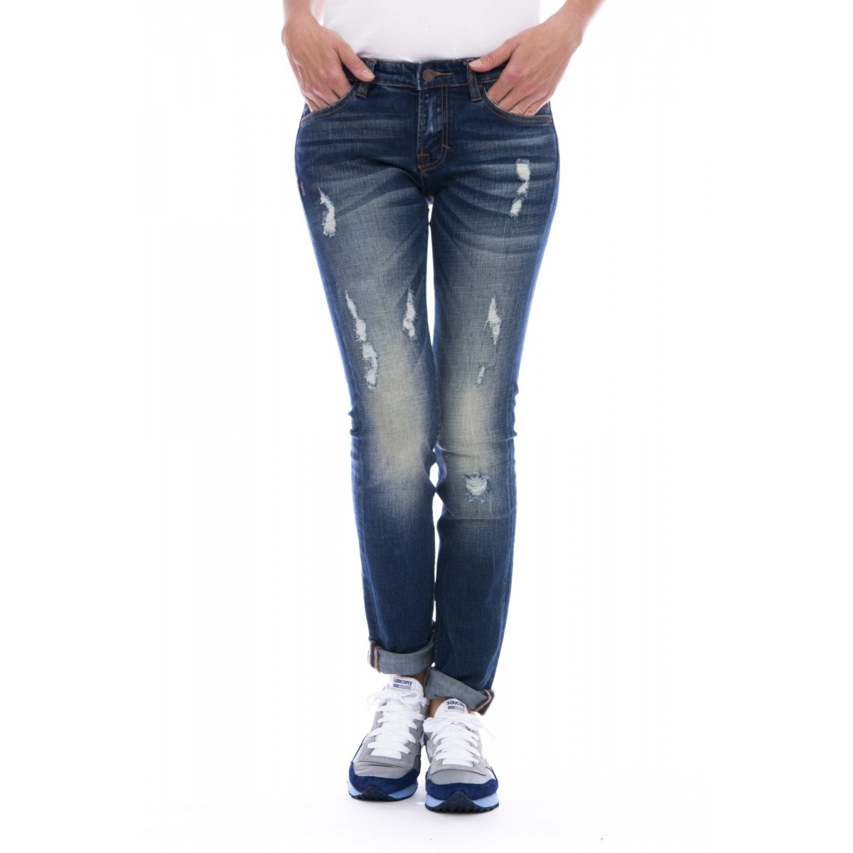 Jeans Sun 68 - 26275 jeans rotture