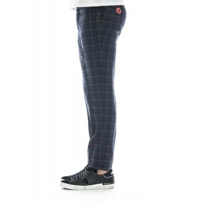 Pantalone uomo - Cpdf01z00boc qg04 check lana