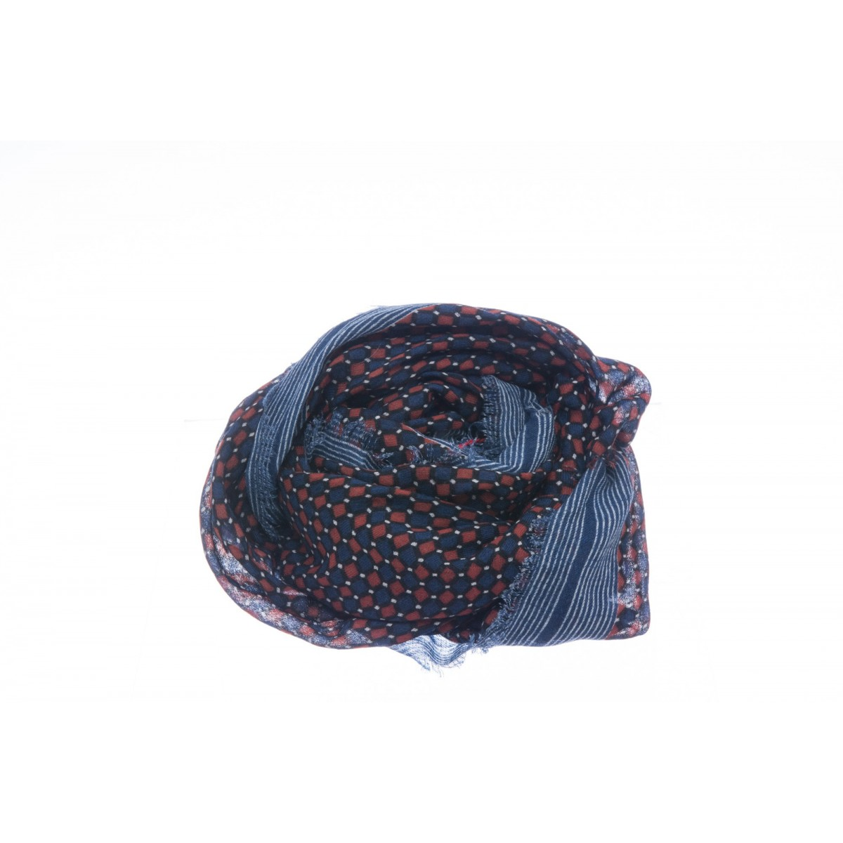 Sciarpa Camerucci - 407 celtic 85% lana 15% seta