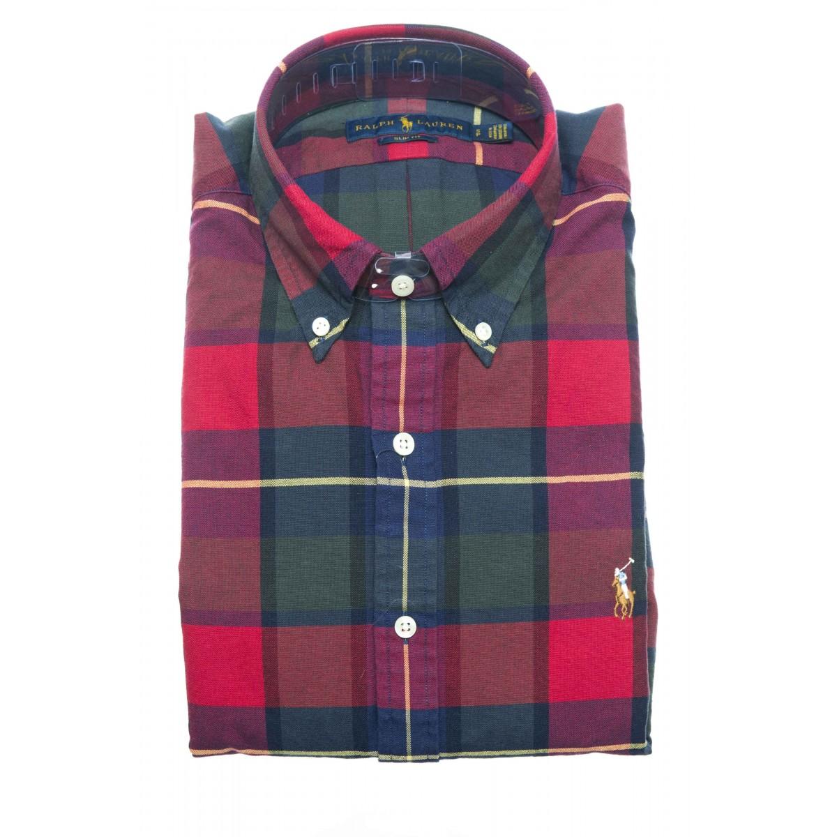 Camicia uomo - 767441 001 quadro slim