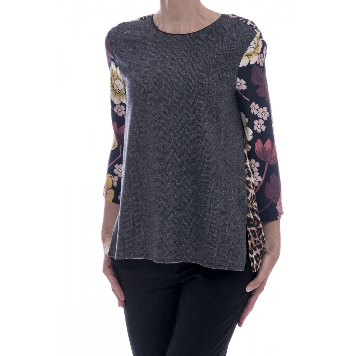 Camicia donna Jucca - J2026 camicia stampa in viscosa