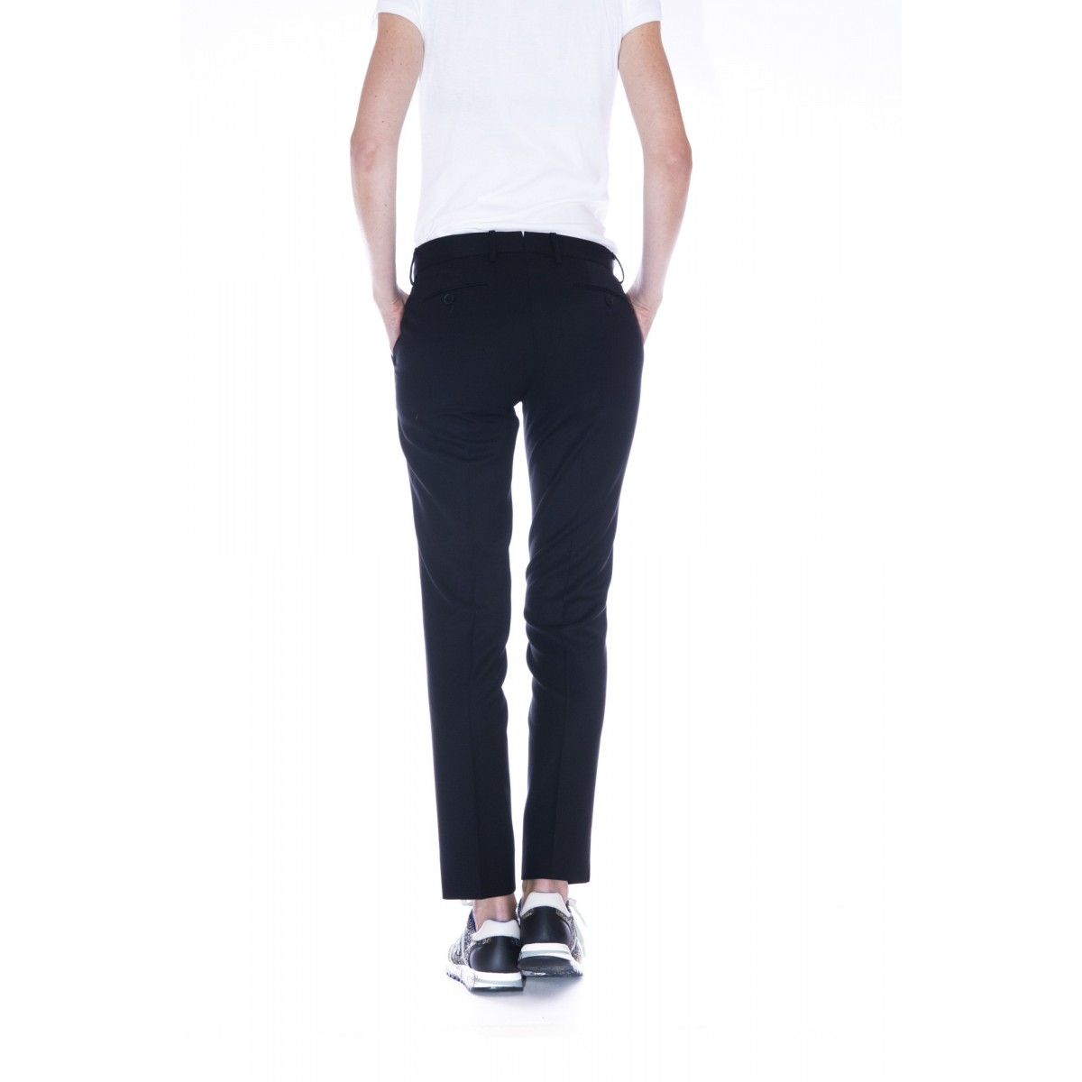 Pantalone donna Pt0w - Cdvsny po36 lana strech