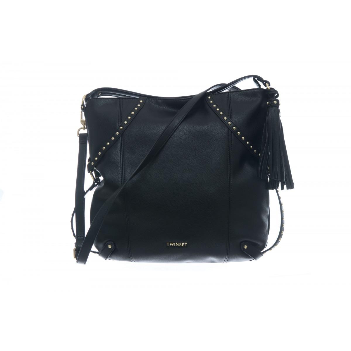 Borsa - To8161 borsa eco pelle borchie