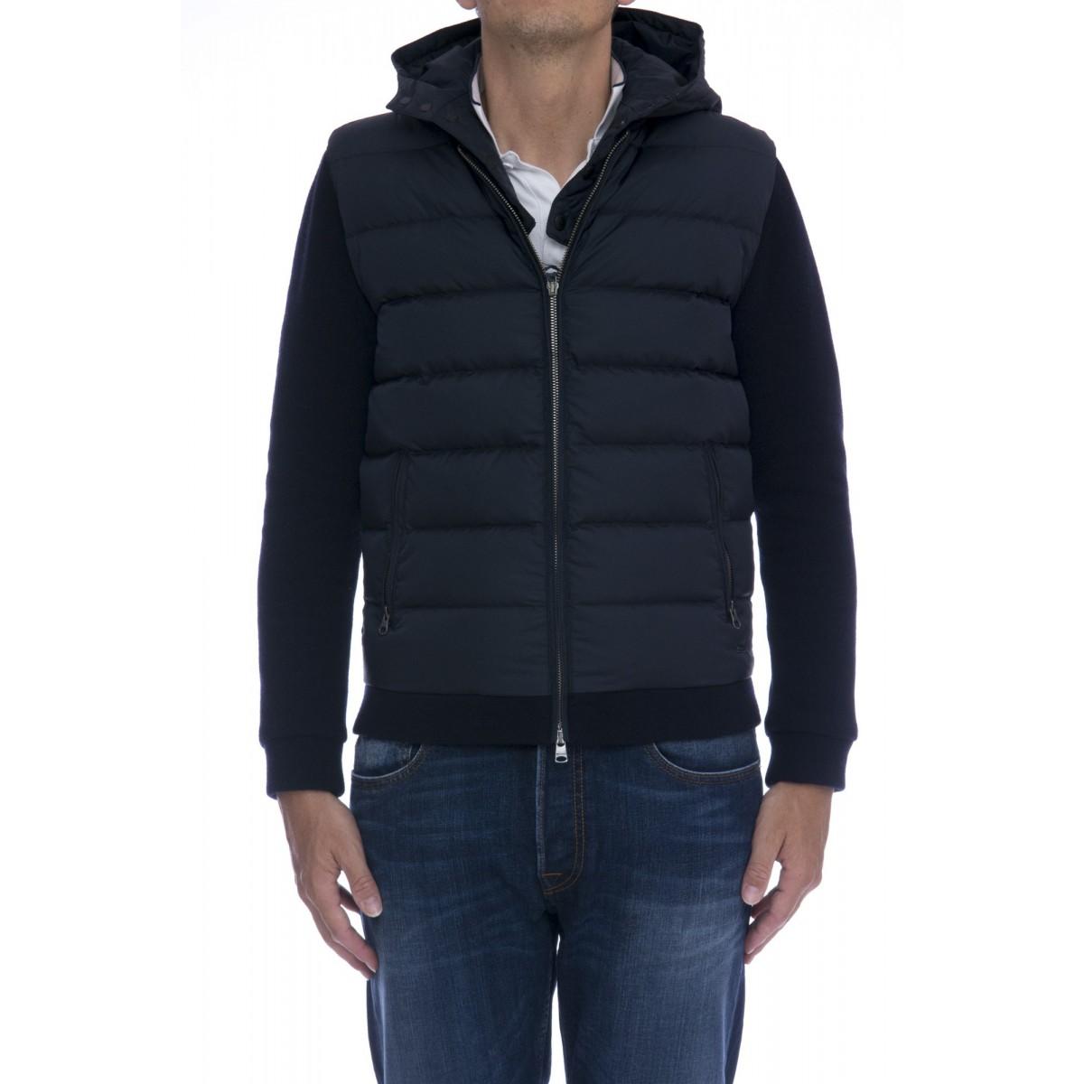 Piumino Woolrich - WO TSC0012 wool cotton down sweater