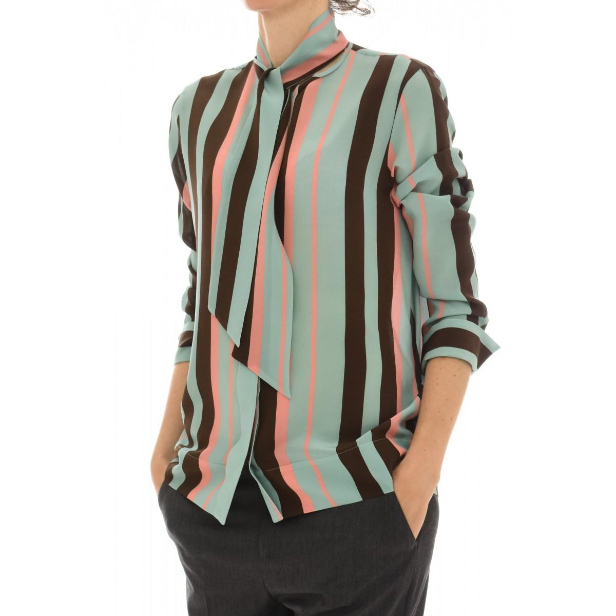 Camicia donna Archivio '67 - Rq6 d87 camicia seta fiocco