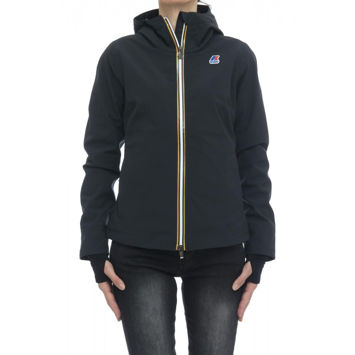 Jacket K-way Woman- Lil bonded stretch k0065m0