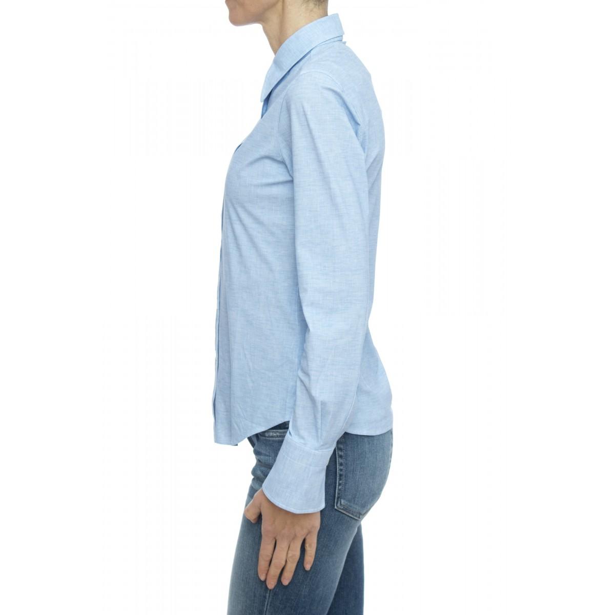 Camicia donna - 8as z9p skin like no stiro