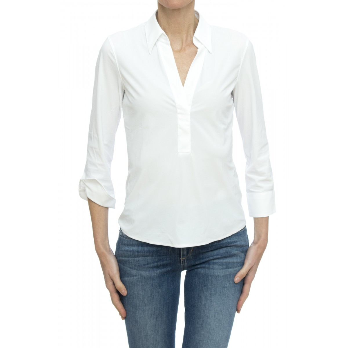 Camicia donna - 8au z9s skin like no stiro