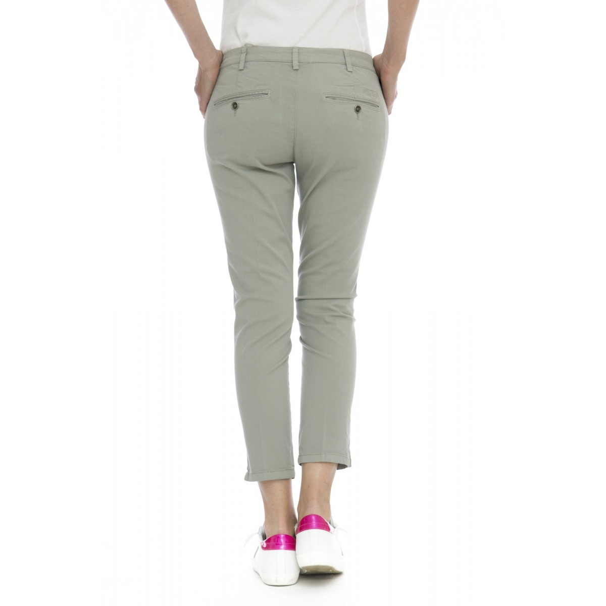 Pantalone donna - Melitas 9531 tinta unita