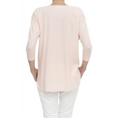 T-shirt - 852002 z0480 ice cotton t-shirt manica lunga
