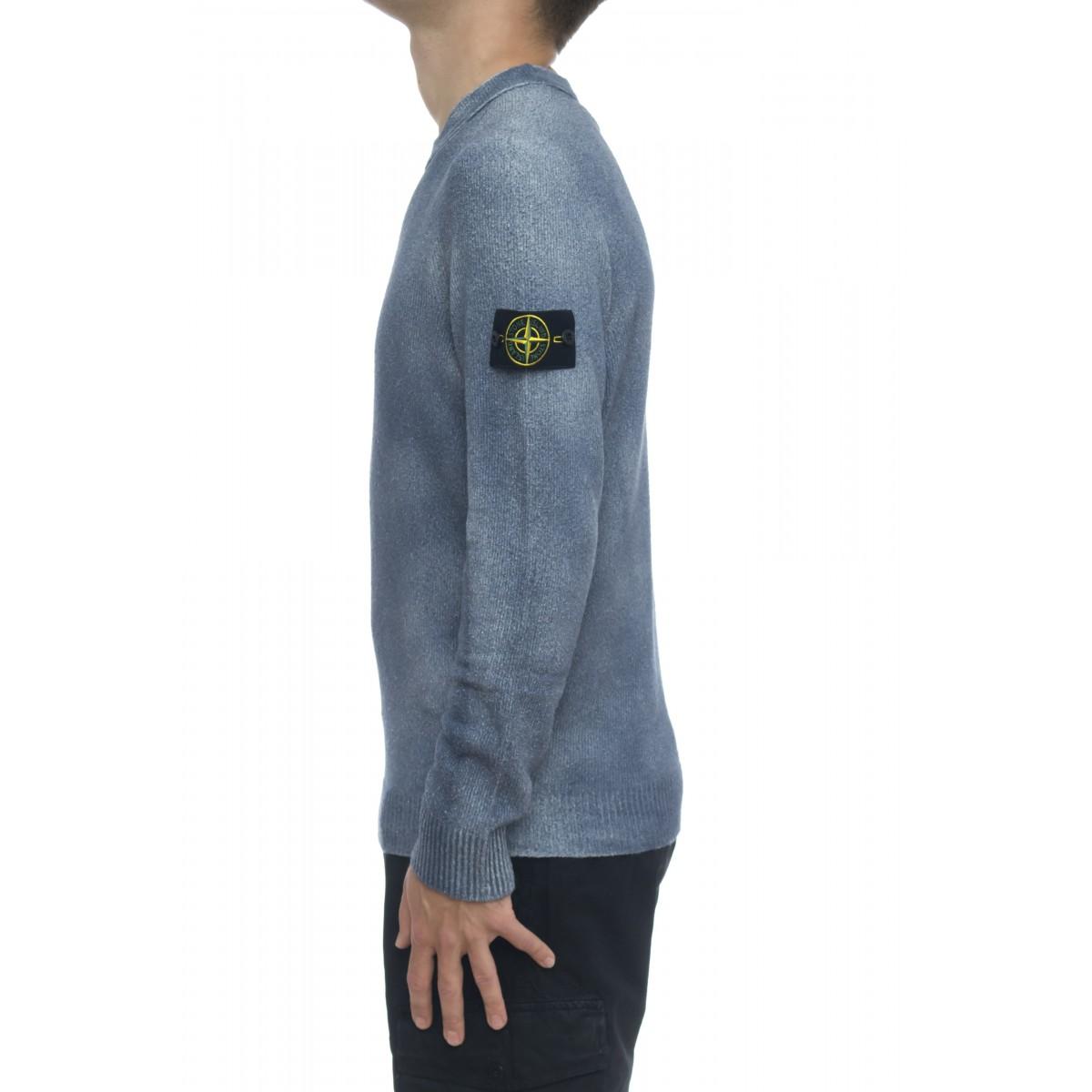 Maglia uomo - 543b7 maglia giro trattamento spruzzatura manuale