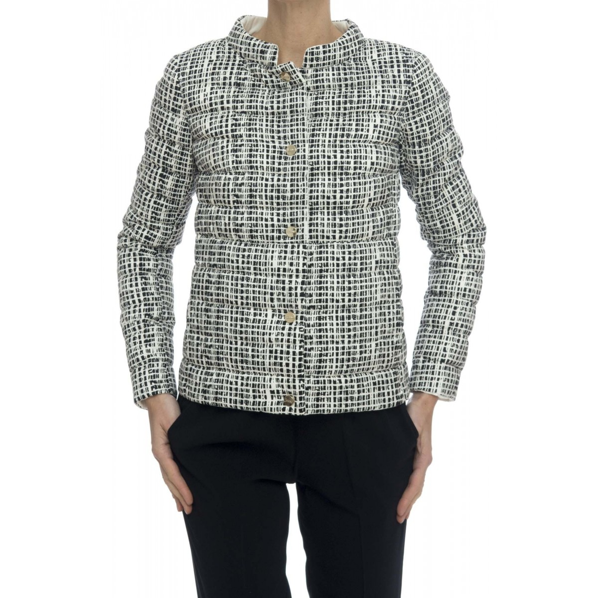 Giubbini - Pi0633d 19554 giacca stampa reversibile