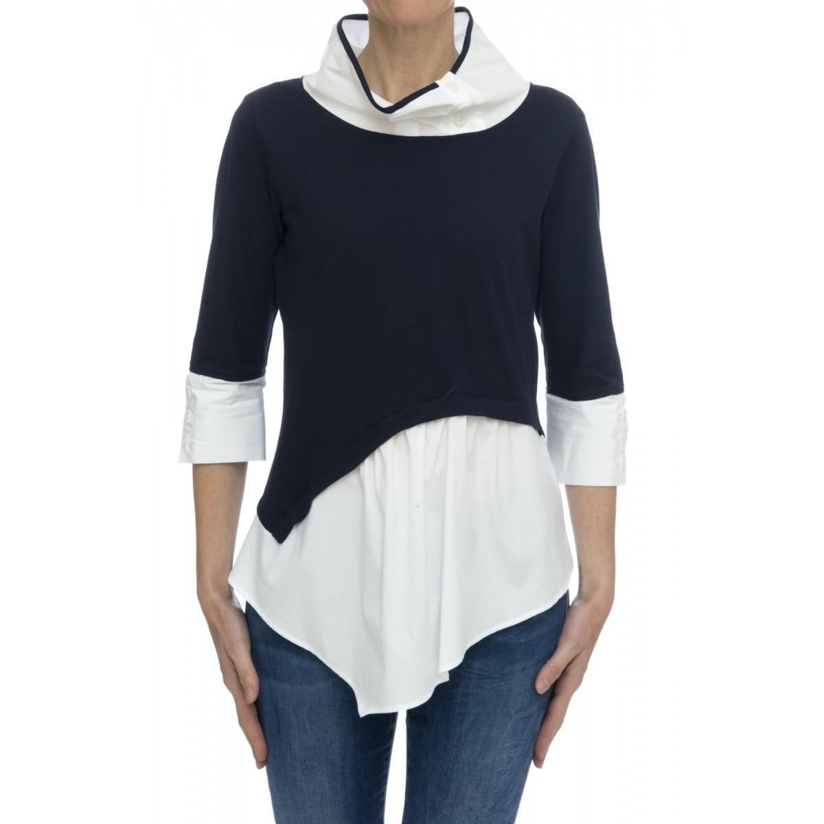 Camicia donna - Francy 85903 camicia doppio tessuto