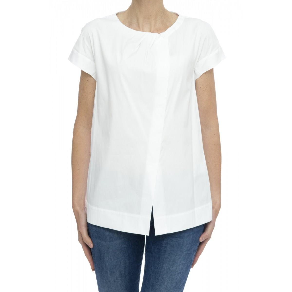Camicia manica corta donna - R13 d43 pop cotone