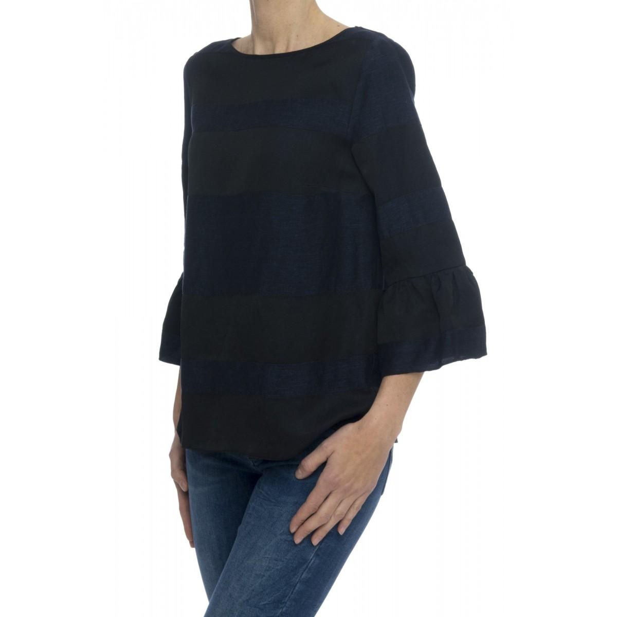 Camicia donna - 2000 camicia denim rigata