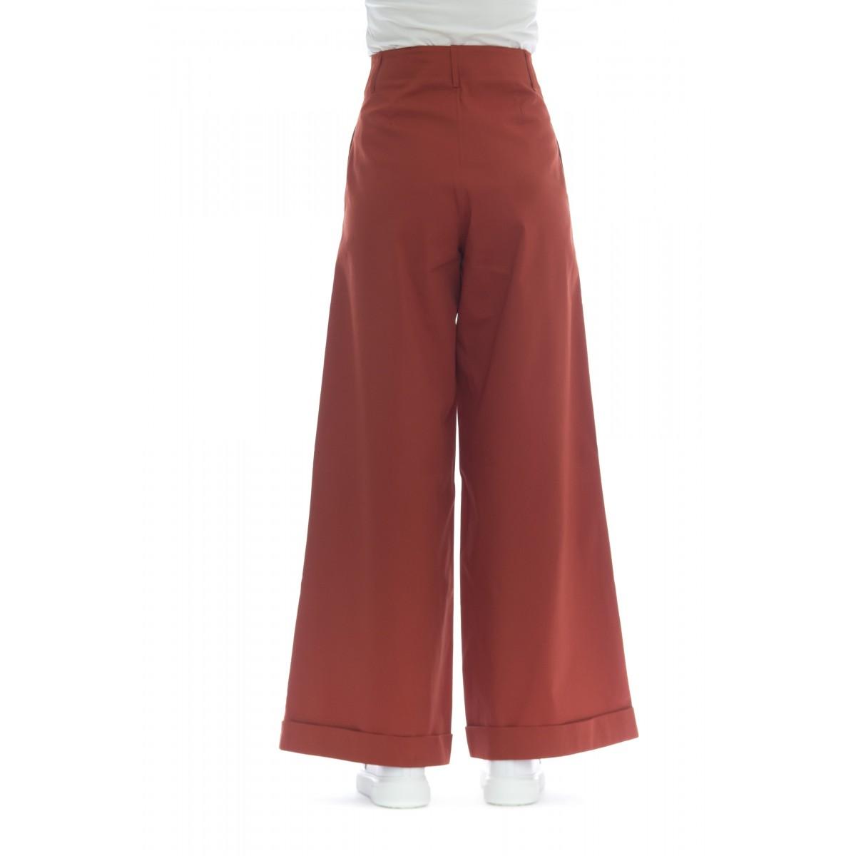 Pantalone donna - C60461 pantalone vita alta palazzo