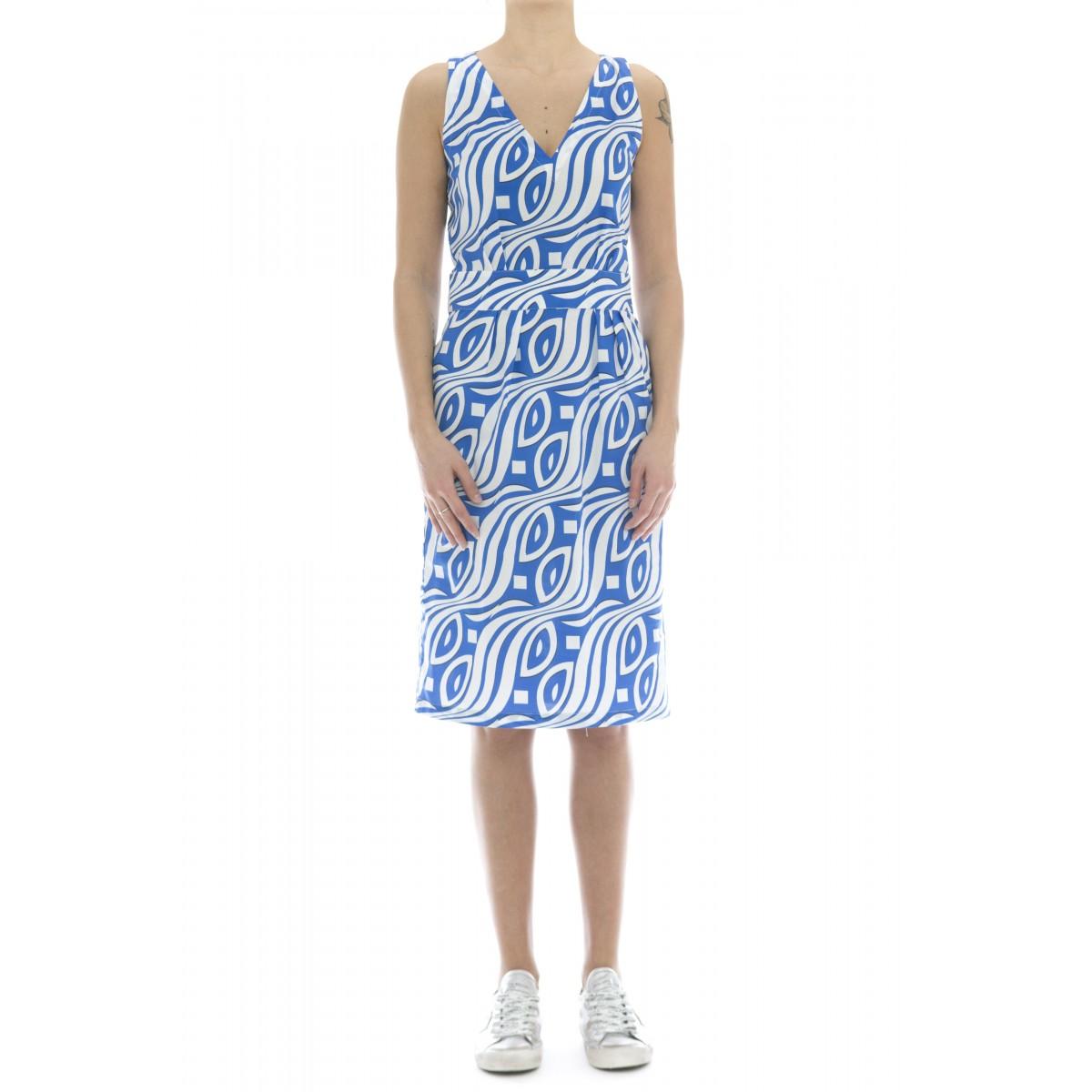 Vestito - 131 t29 vestito tubino s/m stampa