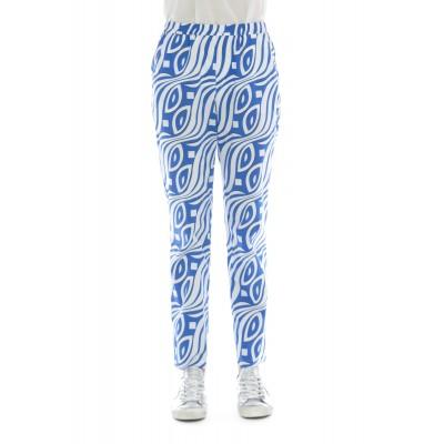 Pantalone donna - 209 t29 pantalone stampa