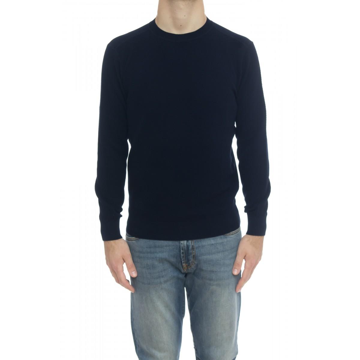 Giacca uomo - 9007/01 maglia giro punto felpa