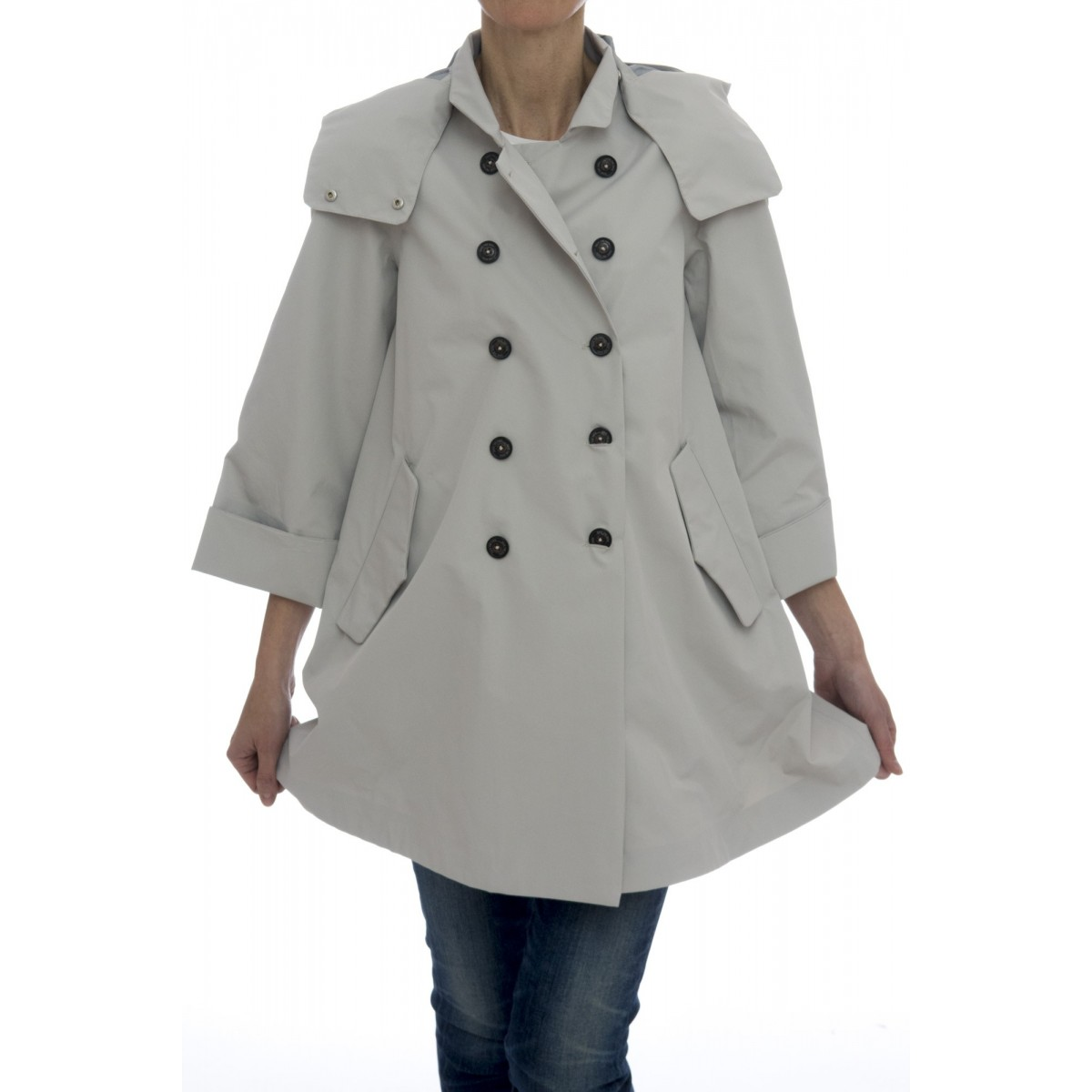 Giubbini - D4312w tech trench