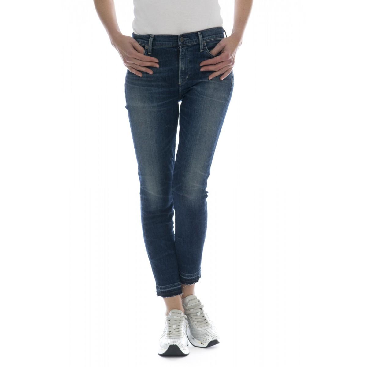 Jeans - Rocket weekender skinny vita alta corto