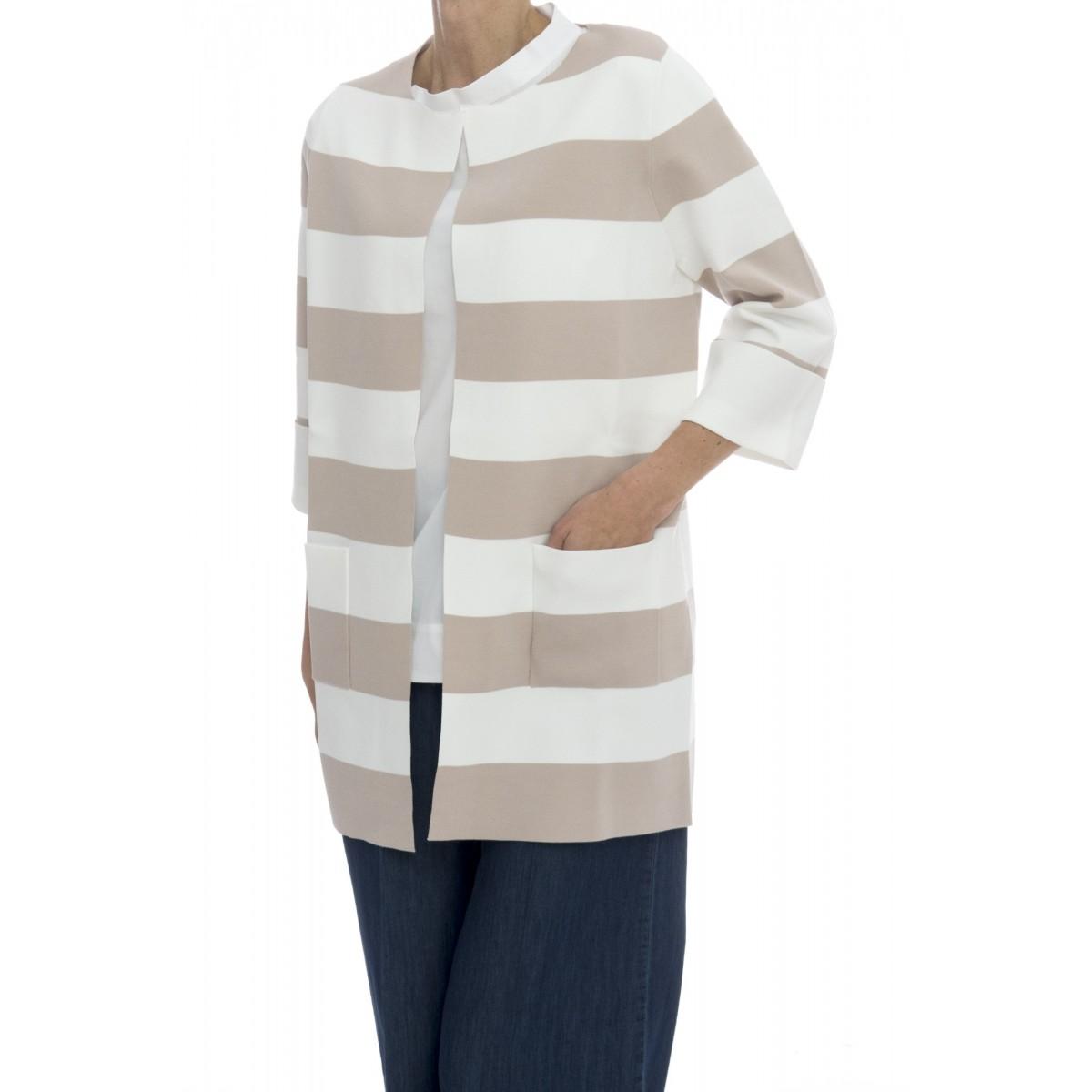 Cappotto - 3922/58 cappotto righe