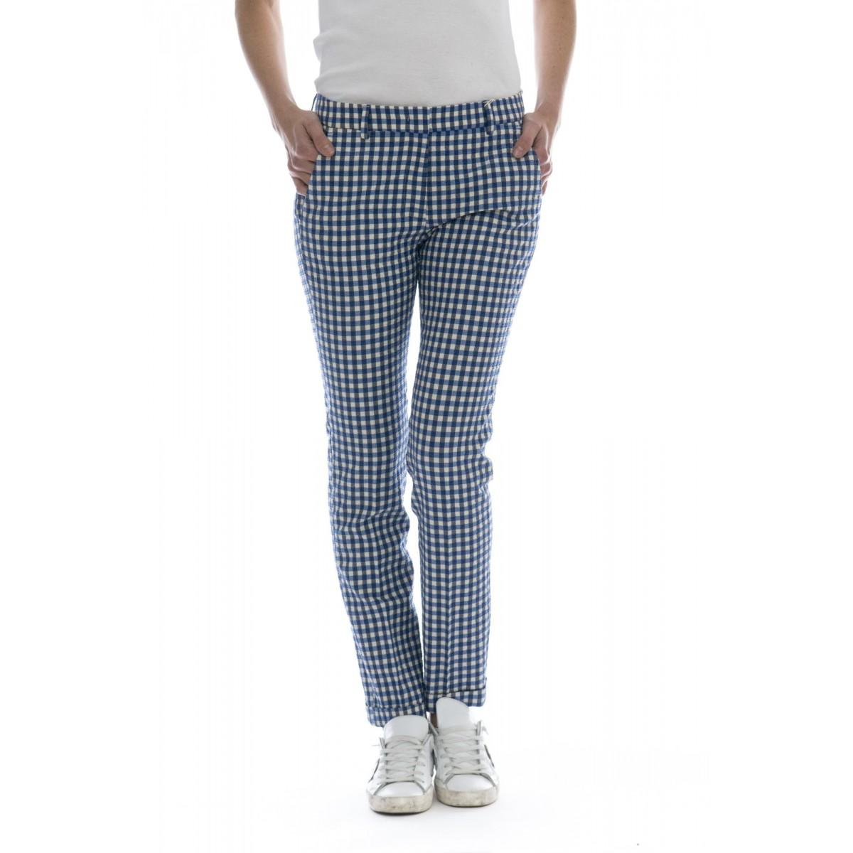 Pantalone donna - 172568 d6229 layre seersucker