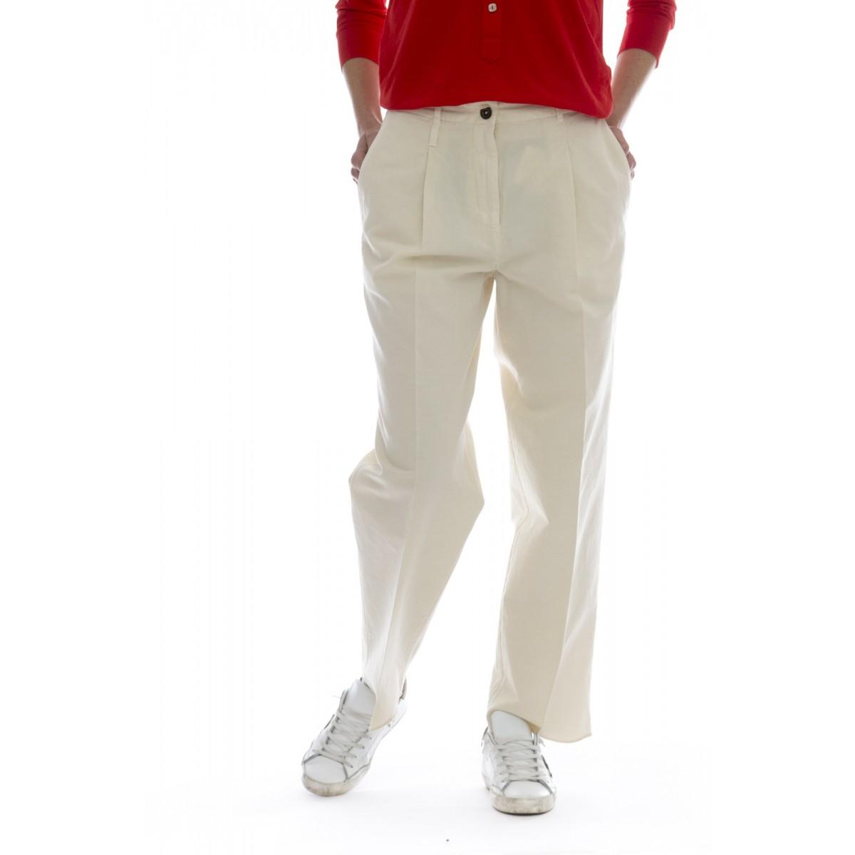 Pantalone donna - 176581 d6207 apryl chino-lino