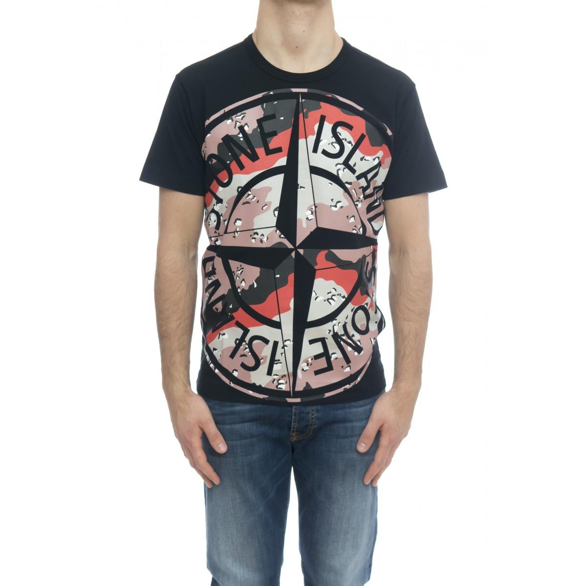 T-shirt - 23386 t-shirt logo camu