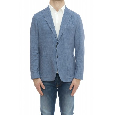 Giacca uomo - Cn2585 giacca jersey stampata