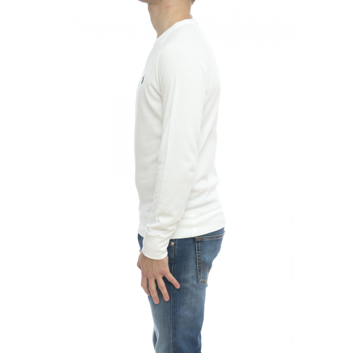 Felpa uomo - 644952 felpa girocollo leggera