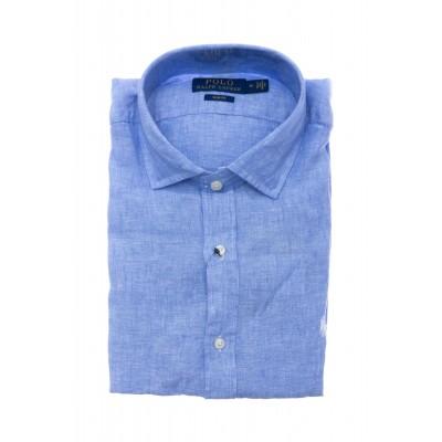Camicia uomo - 795426 lino fiammato