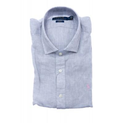 Camicia uomo - 800676 lino chambre