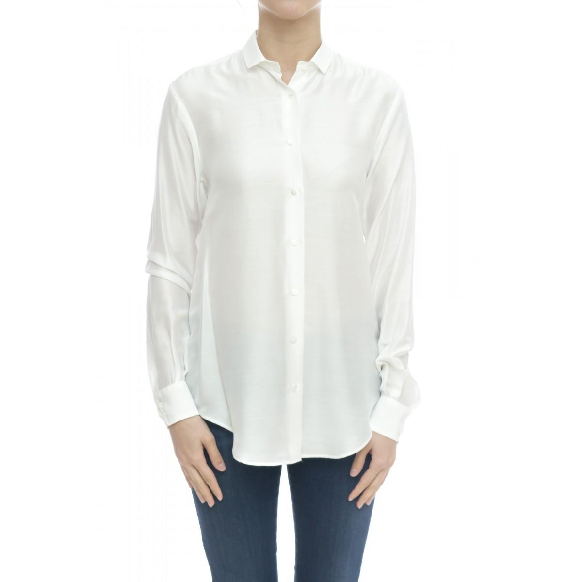 Camicia donna - 1107 65121 misto seta unito