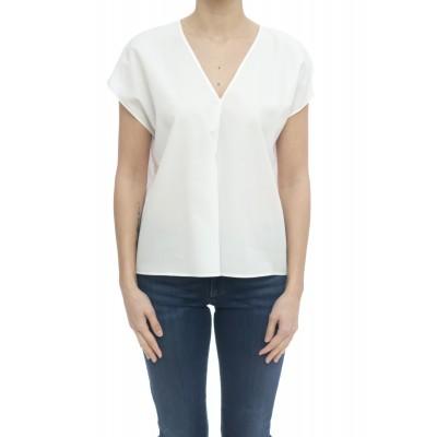 Camicia donna - 6319 15112 camicia scollo v senza maniche